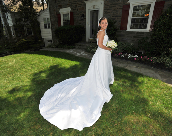 Bride at Parent's House - Photo by Jay Bryant