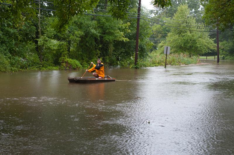 Hurricane Irene Flooding Damage