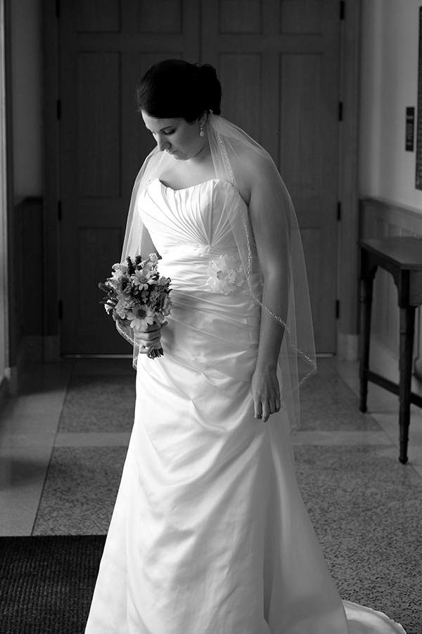 Photo of Nora waiting to get married